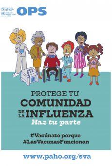 afiche-17vacunaciondelasamericas-flu-2019-esp