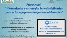 enlace-virtual-zoom-FOROINTLHERRAMIENTAYESTRATEGIASINTERDISCIPLINARIASTRABAJOPREVENTIVOJUNTOAADOLESCENTES-26092020-10AM