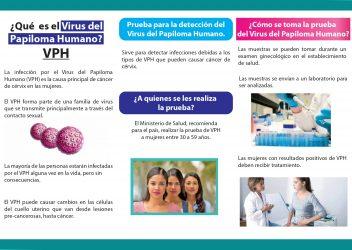 2-Tríptico Cáncer de Cérvix y prueba de VPH