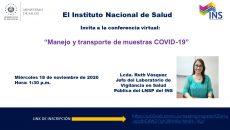 MANEJO Y TRANSPORTE DE MUESTRAS COVID-19