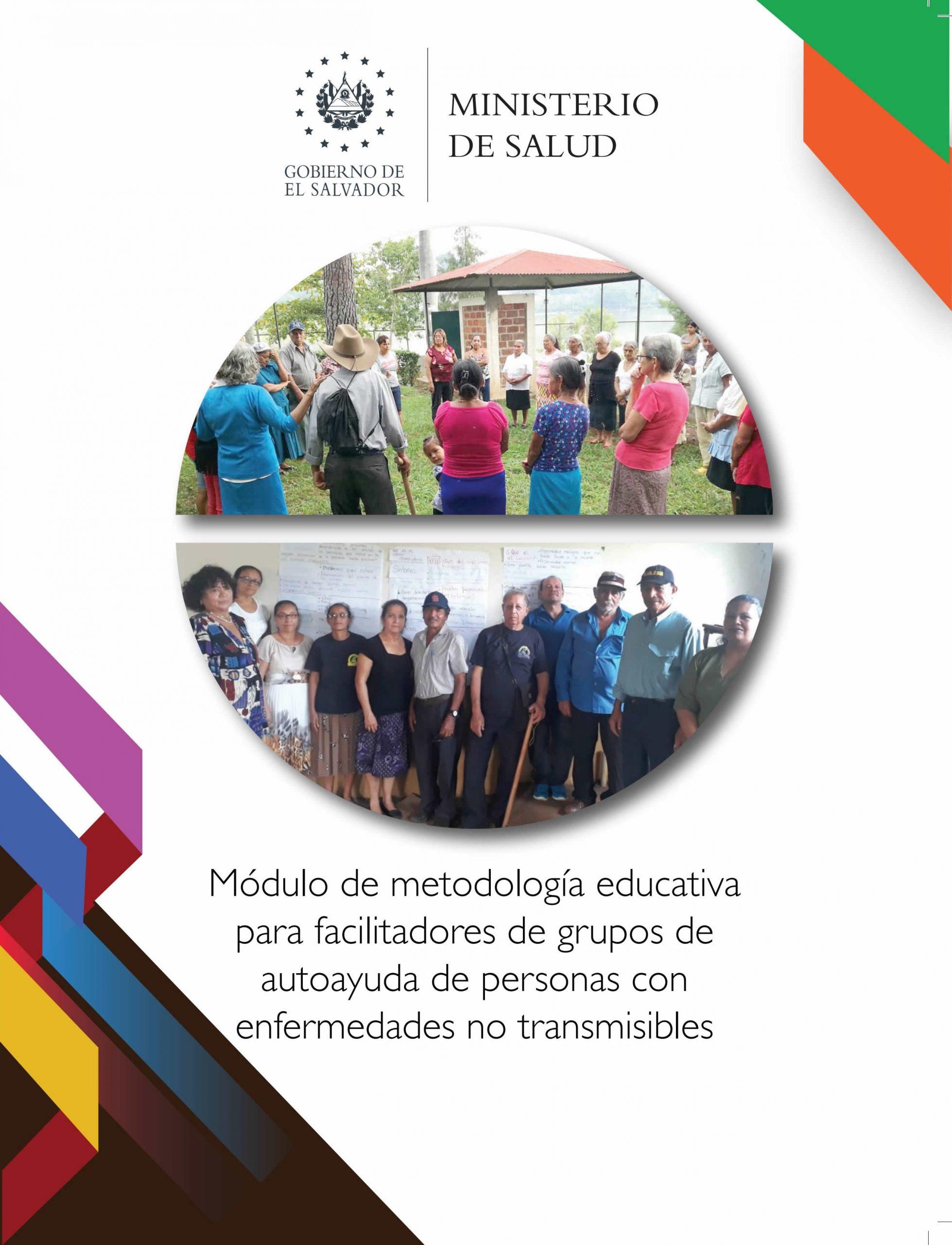 Módulo de metodología educativa para facilitadores de grupos de autoayuda de personas con enfermedades no transmisibles